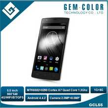 Quad Core 5.5 inch , Multi-Touch 4G Smart Phone, Android OS
