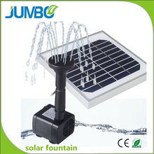 Top level stylish solar panels for water fountains