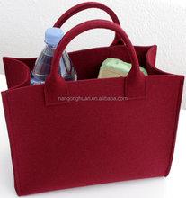 wholesale felt shopping bag felt tote bag with felt hand bag