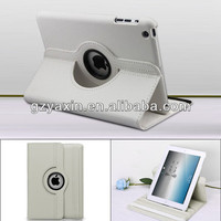 Wholesale Rotation Housing For iPad air litchi cover case / new products phone case for iPad air leather cover