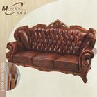 Malásia escultura em madeira de teca sofá móveis da sala