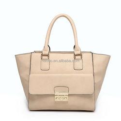 Modern hot selling young women popular tote shopping bag