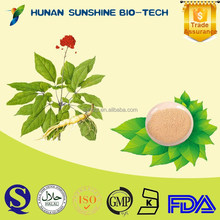 Herbal Extract No Pesticide Residues Ginseng Extract For Anxiety Reduction