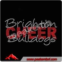 Brighton Bulldogs Rhinestone Cheer Transfers Wholesale Iron On Crystal Stones