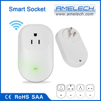 110V 220V 230V 240V US UK EU AU Smart WiFi App Controlled Wireless Remote Socket