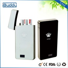 Most popular e cig smart pcc E-pard best disposable cigarette case with LCD display