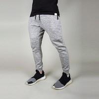 slub light weight tapered fit men gym pants