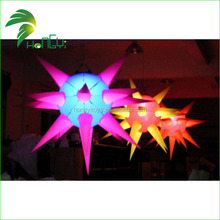 Hot Sale Inflatable Star/ Colorful Inflatable Led Light