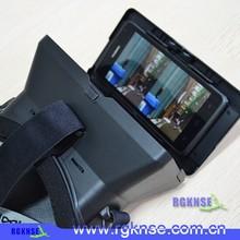 Hot selling OEM ODM 2015 wholsale google cardboard vr 3D glass with app Roller coaster vr