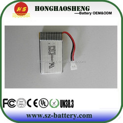 Hot popular Syma X5 X5C X5SW helicopter battery 25C high drain 802540 3.7v 600mah rechargeable lipo battery