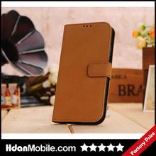 Luxury PU Leather Flip Skin Cover for Samsung Galaxy S4 Flip Cover