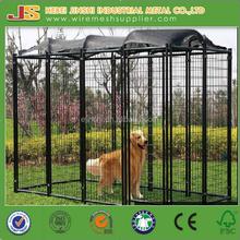 pvc coated welded dog kennel supplier