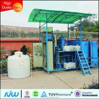 Hongjun RO system as pretreatment +EDI for pharmaceutical for electronic industry HJ-JLK27