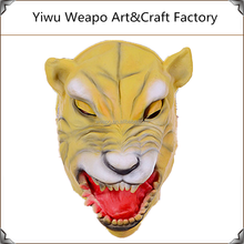 High Quality Wholesale Mens Latex Horror Mask Party Lion Animal Mask