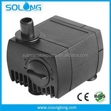 New product submersible country water fountain pump pump pt-808 rustic