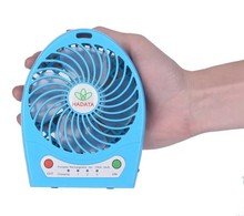 CT-622 Newest Portable USB MINI FAN 18650 Lithium Fattery Fan Rechargeable Turbo Fan High Quality 7 Colors