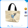 2015 Reusable Eco Natural Handmade Wholesale Plain Canvas Bag