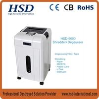 HSD-9000 model multi-function shredder, paper shredder office depot