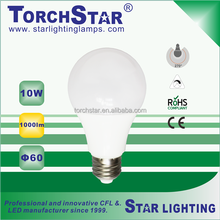 A60 10W LED light bulb indoor use A60-10W-PA-03