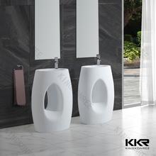 Pedestal standing and long size wash basin pedestal