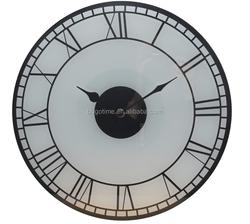 classical Roman numerals design glass wall clocks