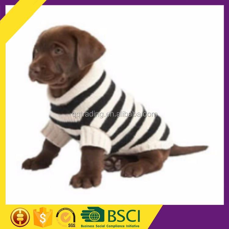 Qqknit 7gg punto raya fácil perro suéter de punto patrón libre ...