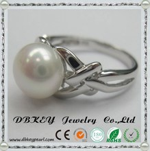 Foreign trade wholesale jewelry and fashion trend of female noble pearl ring