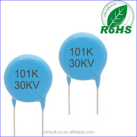 Wholesale 101k High Voltage Disc Ceramic Capacitor 30KV ,made in china