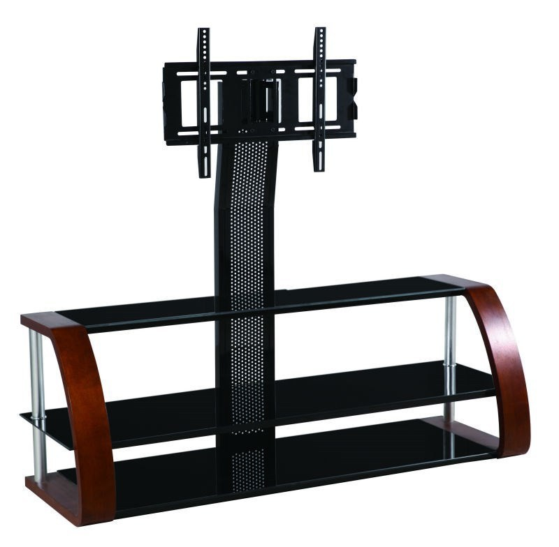 Wood outdoor used high end universal plasma lcd tv pole