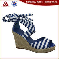 Factory manufacture various rope sandals