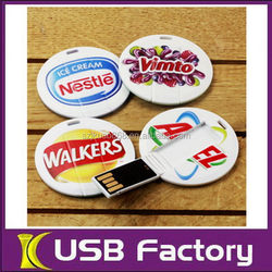 New hot selling 16 super thin card usb flash drive