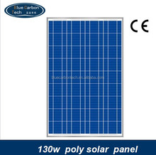 high efficiency and low price pv solar panel 130W