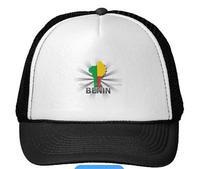 Benin ladies fashion flag hat