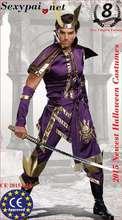 2015 novos trajes de Halloween dos homens Mortal traje Samurai