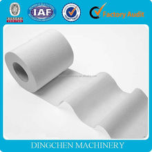hot-sales toilet tissue paper making machine,10 T/D, raw material: waste paper, cellulose, bagasse, wheat straw