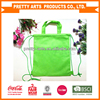 hot popular new custom printed pp non woven drawstring tote bag backpack