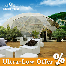 Latest design geodesic dome tent / large dome tent