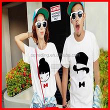 Hot sale couple love t shirt