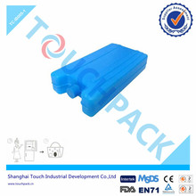 Plastic Ice Pak ,Gel Ice Cold Box for travel