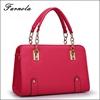 2015 Fashion Korean Style Christmas 100% genuine leather hand bag lady china wholesale handbag