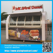 YY-FS290C New Condition and Overseas support available street mobile food vans