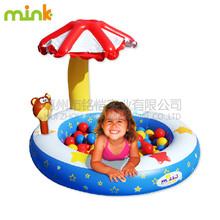Kids playing ocean ball pool inflatable ball pool for sale