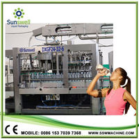 stain steel 3-in-1 pure water making machine/pure water filling machine/equipment