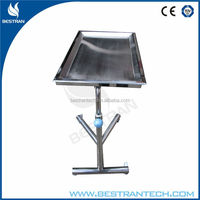 BT-SMT001 steel hospital patient surgical instruments hstainless steel surgical instrument table