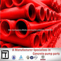 DN125 bomba de alta pressão do tubo de betão