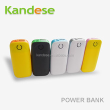 Fashion style power bank 5600mah Power Bank External Battery 18650 Mobile Phone Charger For Mobile Phone Backup with USB cable