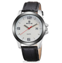 Alibaba Express SKONE New Products Man Watch Leather