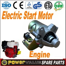 Power Value Electric Start Motor For Generator Engine Use