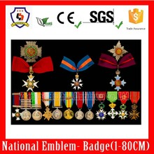 British knighrhood,special customized to sample artwork(HH-medal-010H)