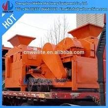 complete line for the production of briquette of dried coal